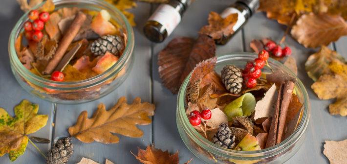 DIY pot pourri automne & nature - Au Fil du Thym