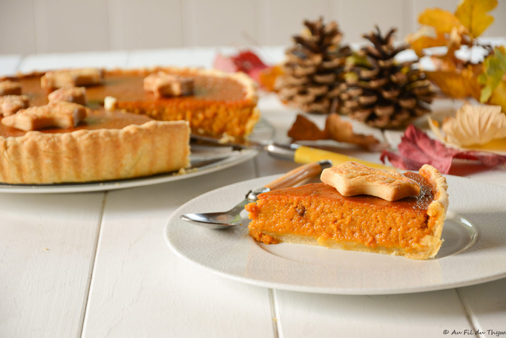tarte courge muscade - Dessert d'automne facile et délicieux à la courge