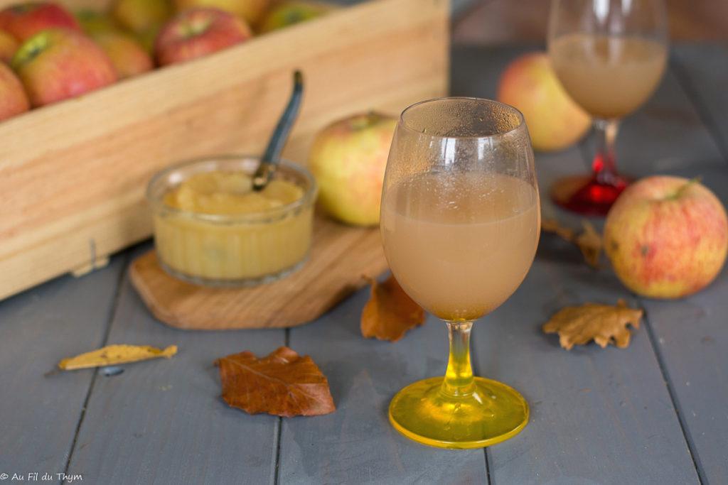 jus epluchures pommes - Idée anti-gaspi et une idée pour se régaler - boisson automne