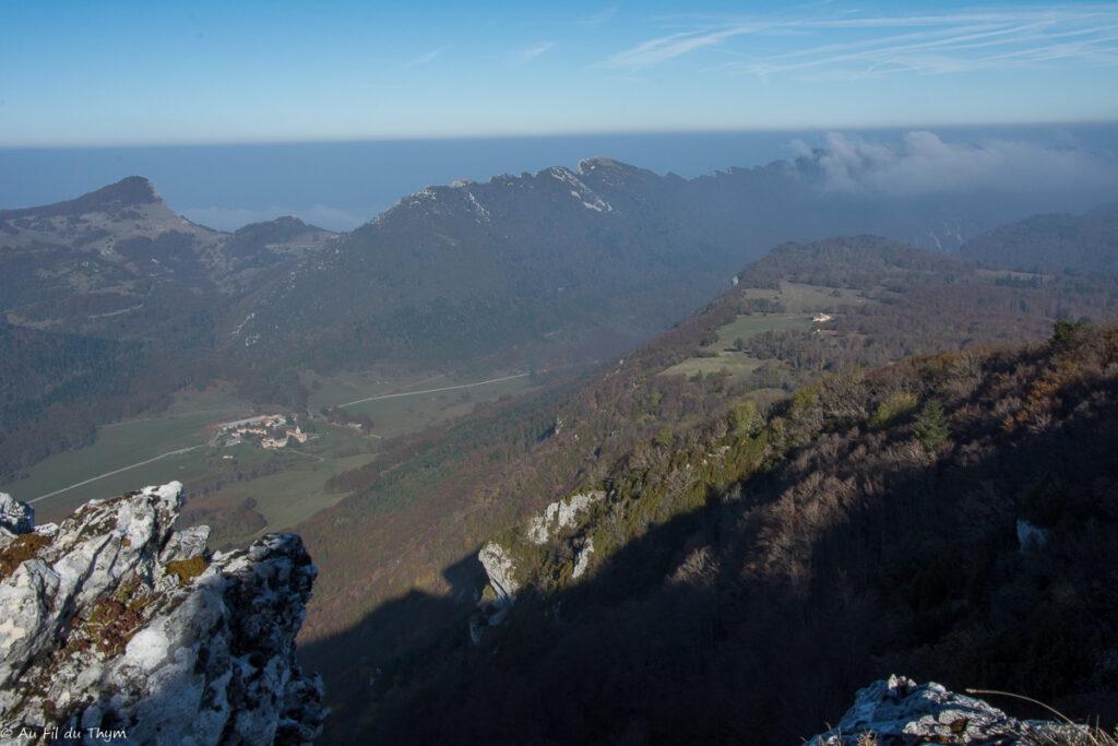 Randonnée en Forêt Grand Echaillon - Vallée de Léoncel  - Automne 2018