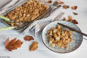 crumble rutabaga chou rave noisette // Une idée délicieuse de recette rutabaga