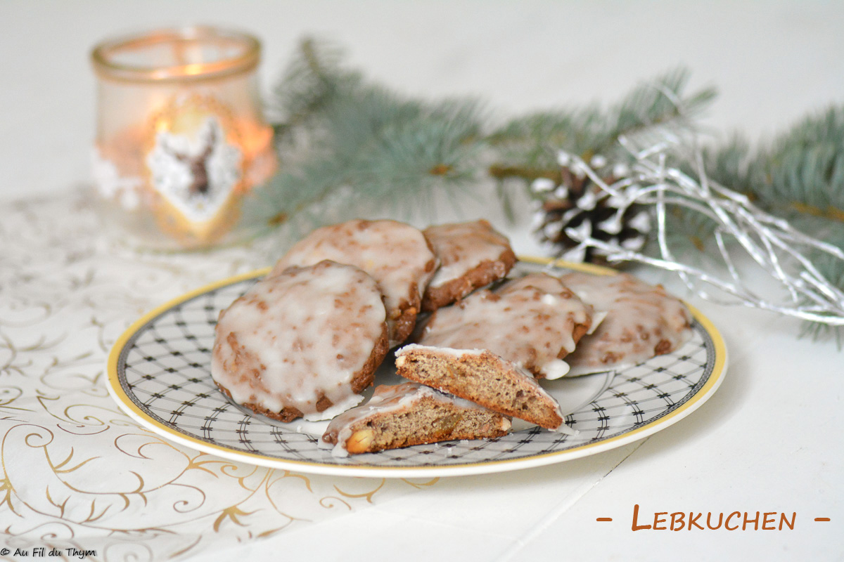 Lebkuchen (petits pains d'épices)