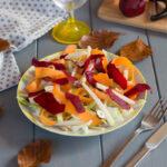 salade chou rave chou blanc - Une salade d'automne croquante et facile