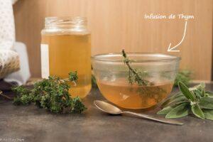 tisane thym // Astuces soigner au naturel en hiver