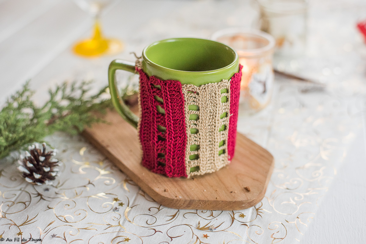 "-DIY –  ""Cozy Mug"" au crochet"