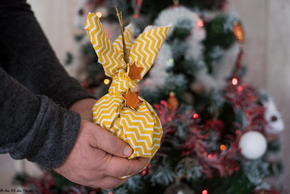 Des paquets cadeaux zéro déchet et ultra faciles