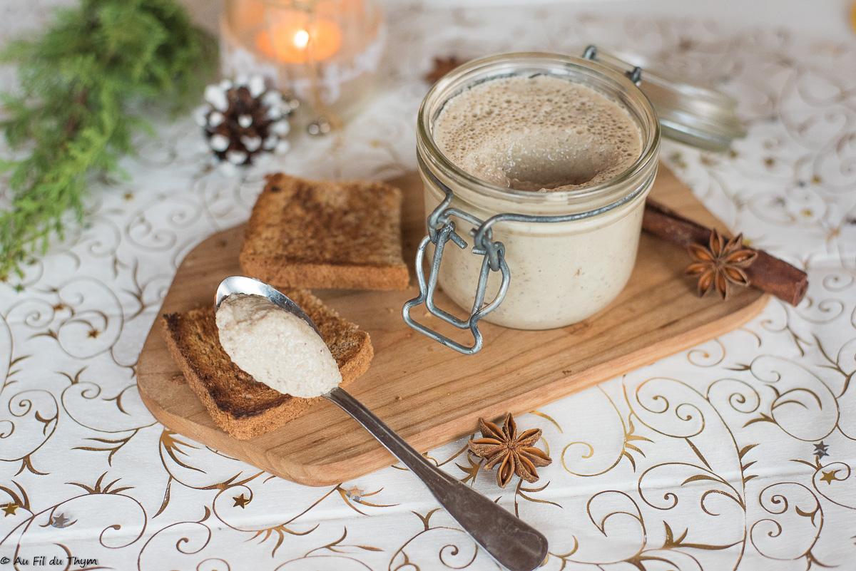 Mousse végétale aux champignons (apéritif végétalien)