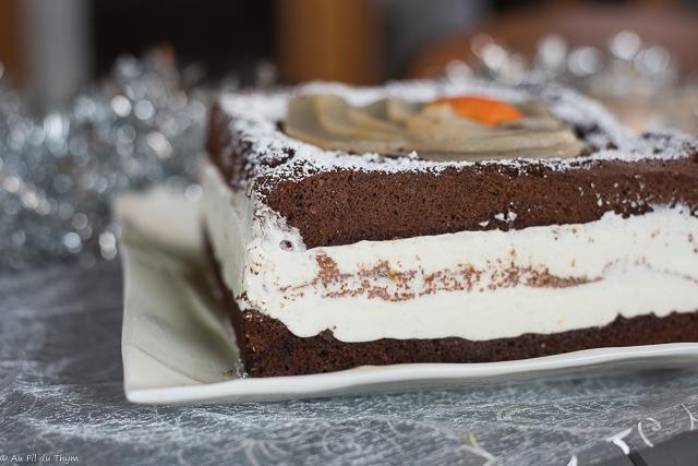 Poirier chocolat en zoom