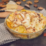Gratin pomme de terre butternut et saint nectaire - Gratin d'hiver - Gratin fromage - Au Fil du Thym
