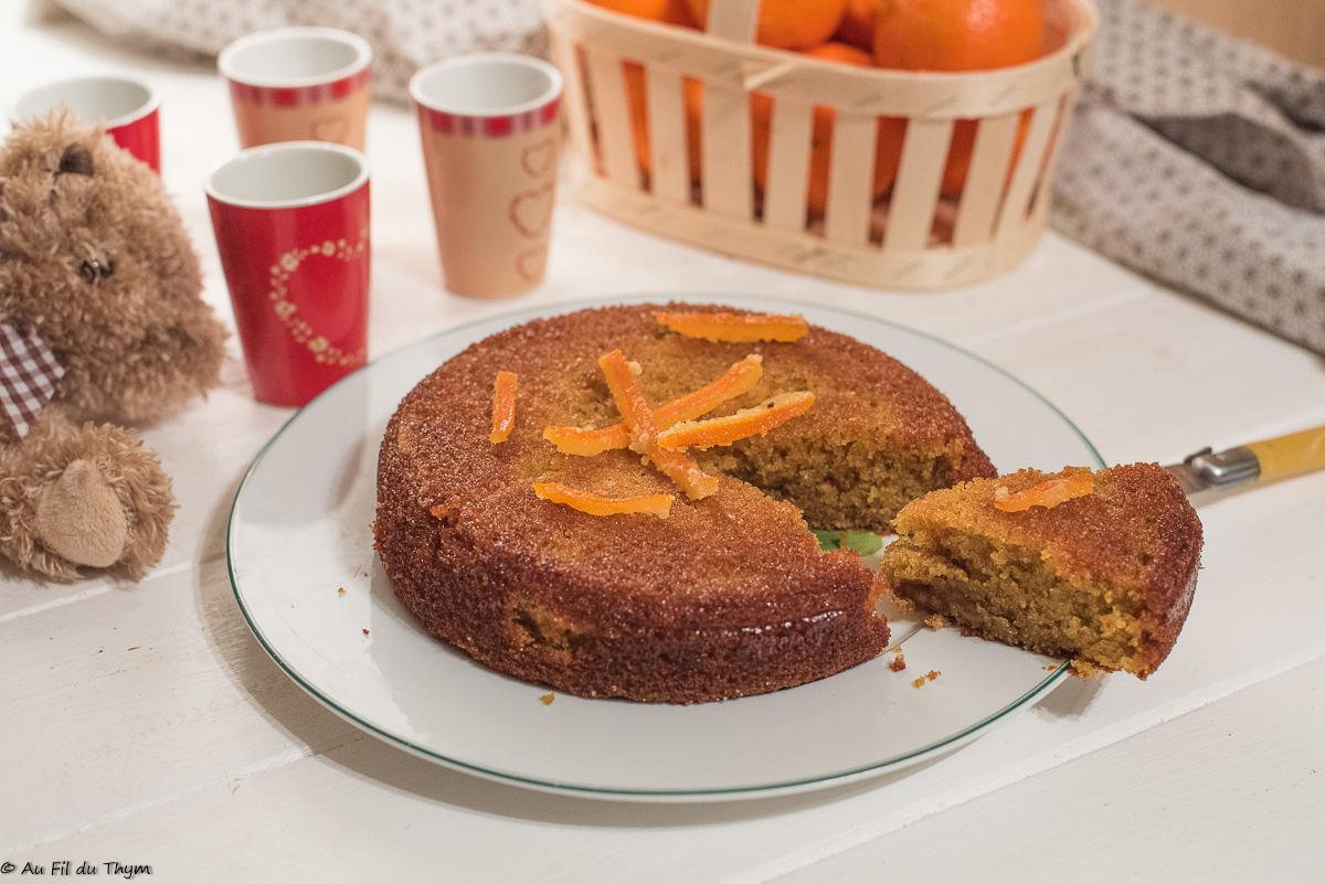 Gâteau à l'orange très moelleux