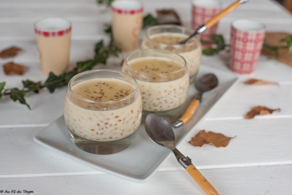 Petit épeautre au lait (& rhum) - Idée dessert épeautre - Au Fil du Thym