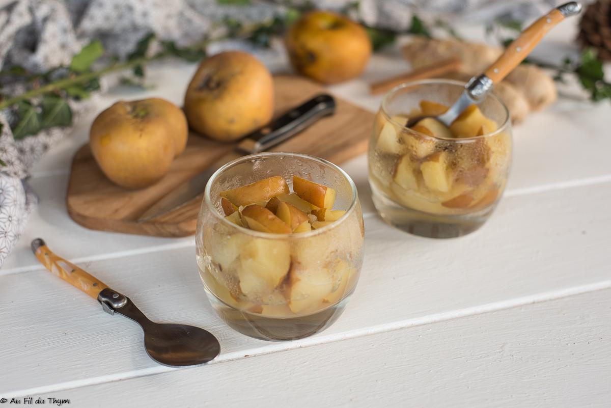 Pommes moches au gingembre (pattes de loup)