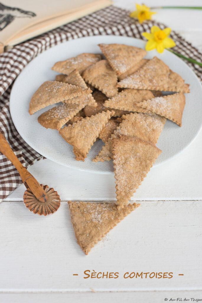 Sèches comtoises - Biscuits Franche Comté traditionnels - Au Fil du Thym