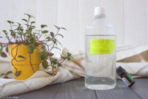Assouplissant maison et écologique pour la lessive - Au Fil du Thym