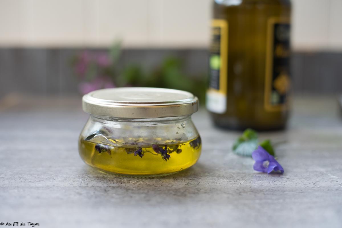Macérat huileux de violette (toux, insomnie, maux de tête)