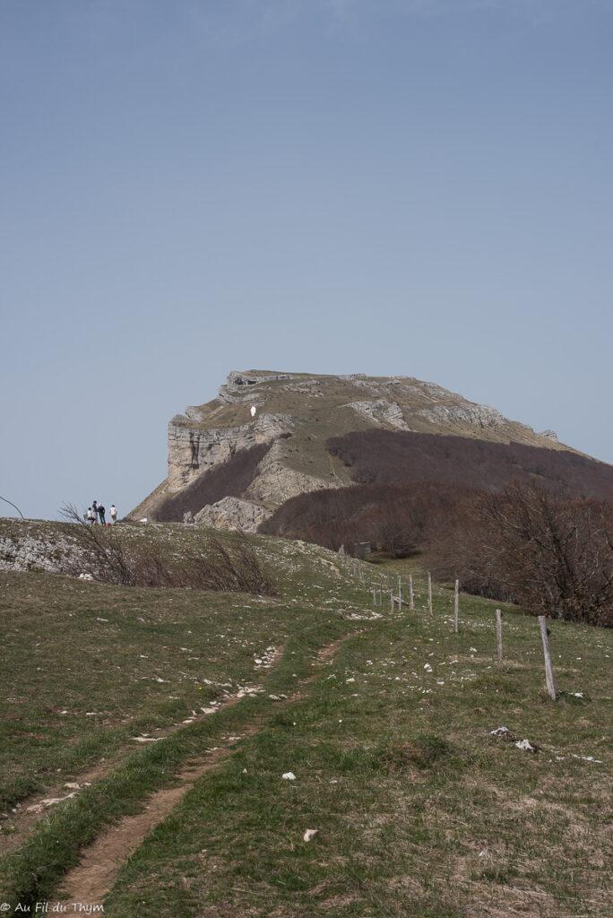 Roc de Touleau - vercors avril 2019