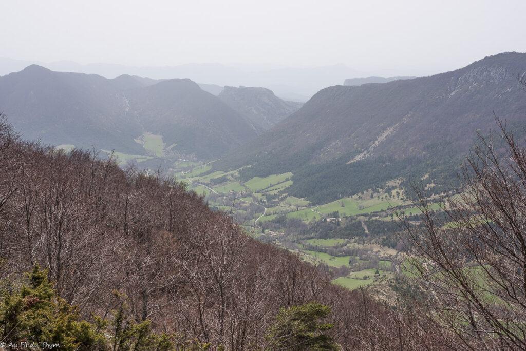 Vallée d'Omblèze - vercors avril 2019