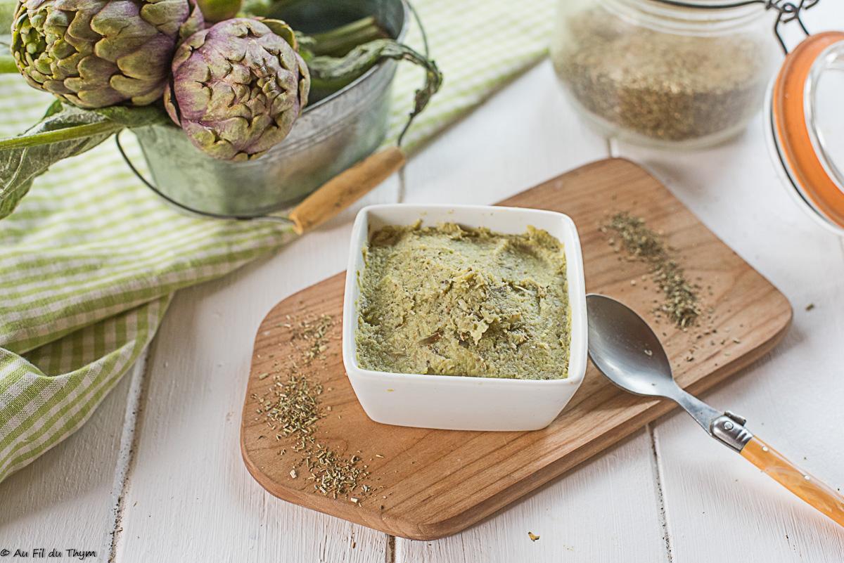 Caviar d'artichaut poivrade (tartinade apéro.. ou plus)