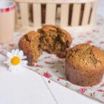 Muffins farine de lentilles, graines de pavot et sésame - Au Fil du Thym