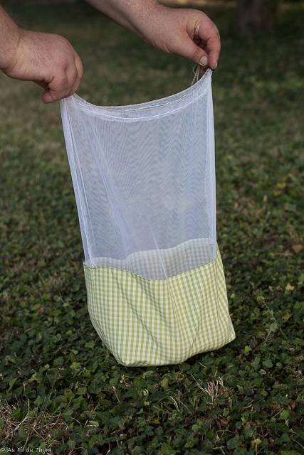 diy sac à vrac tissu facile