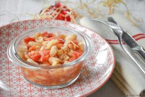 Mijoté haricots blancs tomate et fenouil