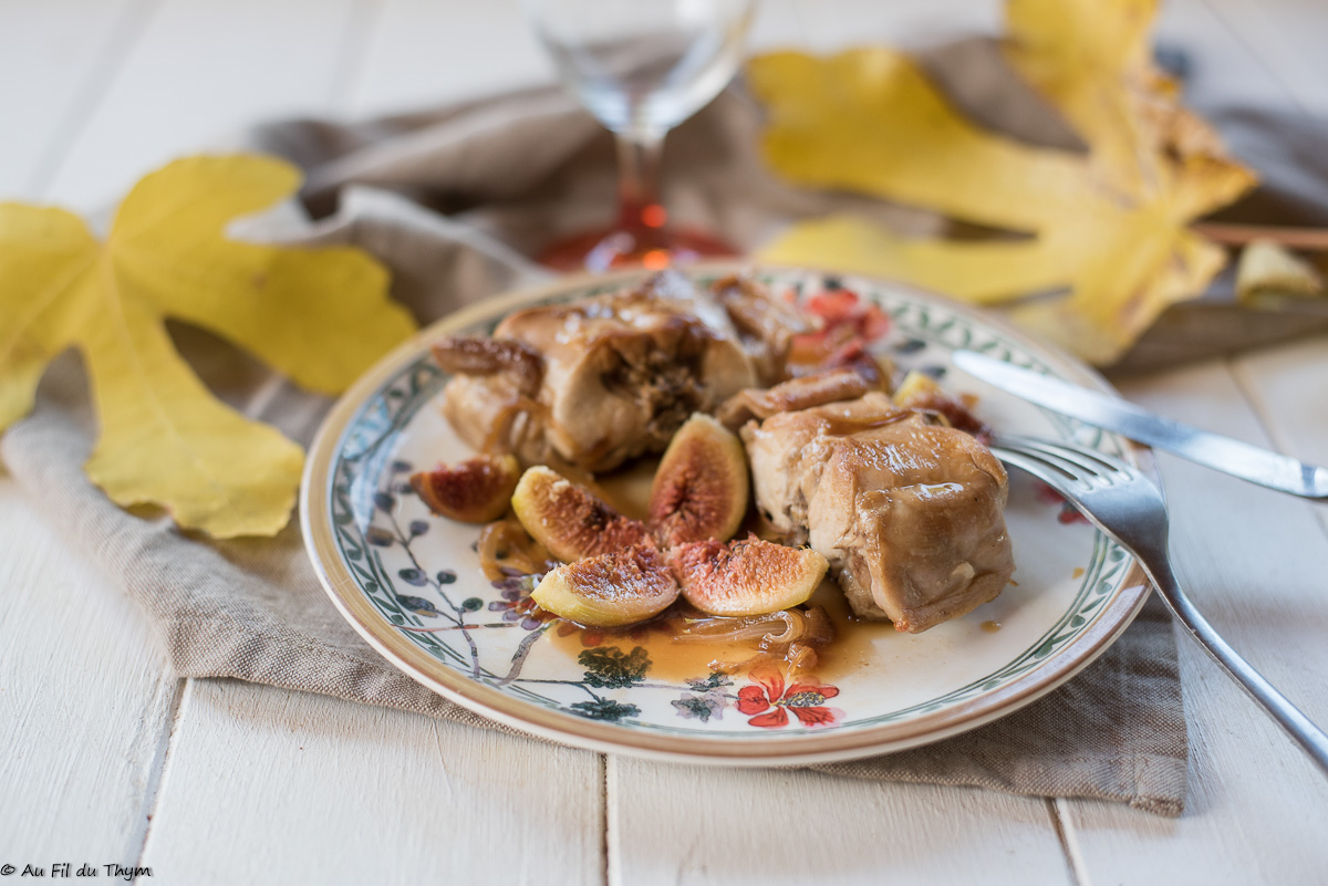 Lapin aux figues fra ches petit plat d 39 automne au fil - Cuisiner des figues fraiches ...