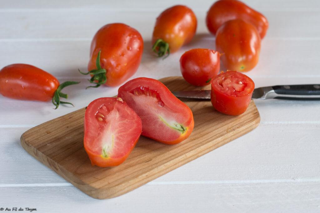 Tomates : Privilégier les tomates roma pour les sauces