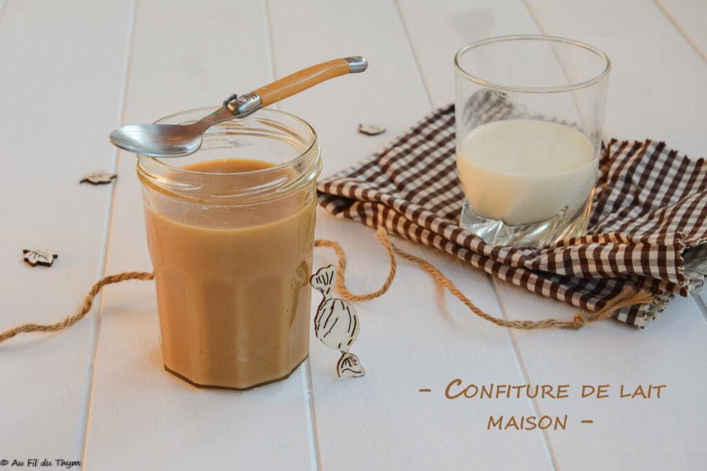 Confiture de lait maison - Au Fil du Thym