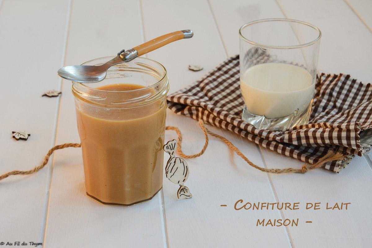 Confiture de lait maison
