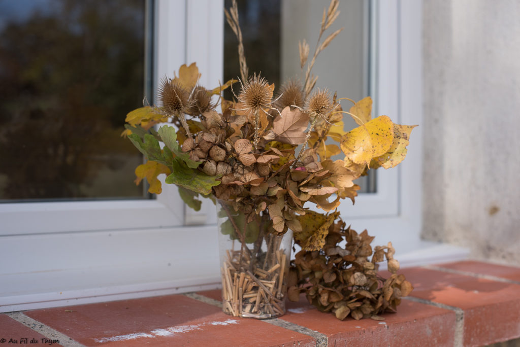 DIY bouquet sec automne