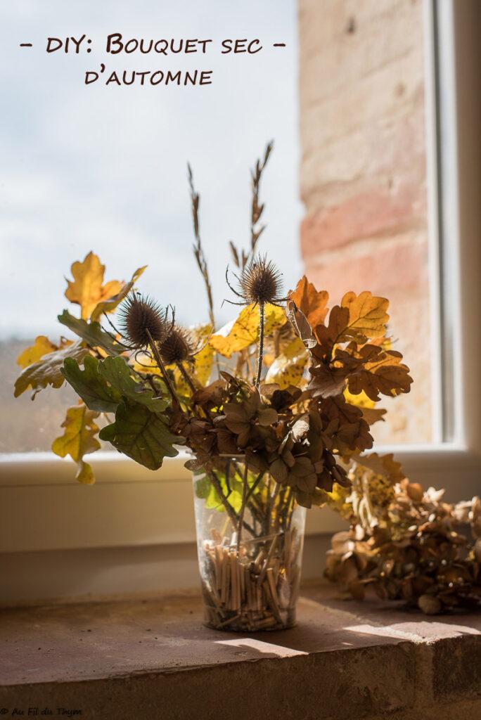 DIY : bouquet sec automne - Au Fil du Thym