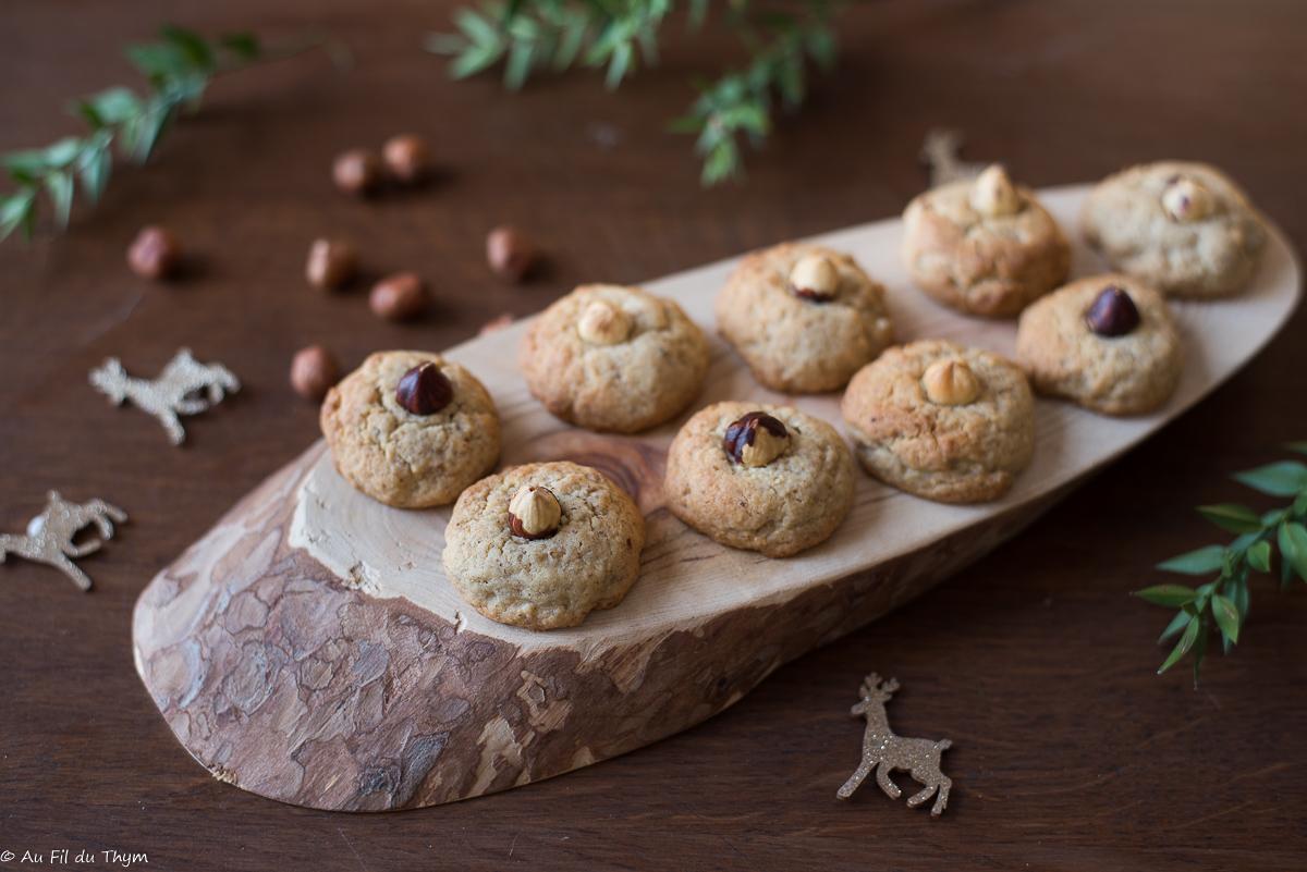 Noisettins (biscuits de Noël)