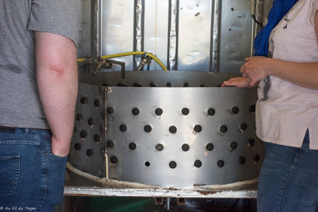 Agriculture bio élevage de volailles : Machine à plumer