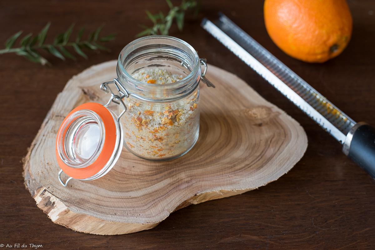 – DIY – Sel aux agrumes (orange et citron)