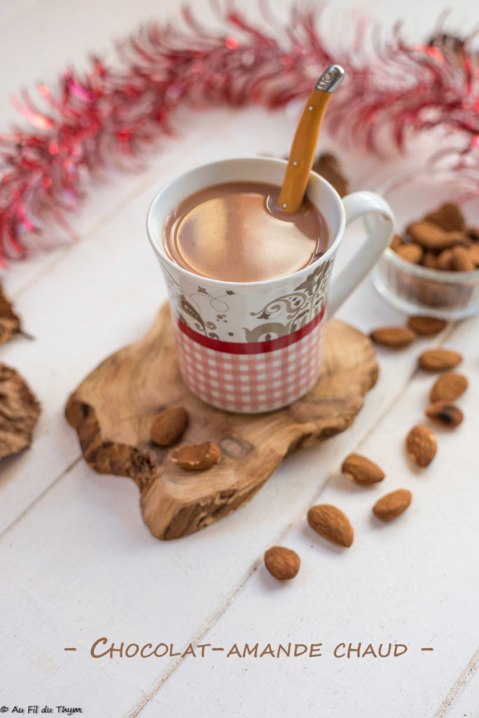 Chocolat Amande chaud - Au Fil du Thym