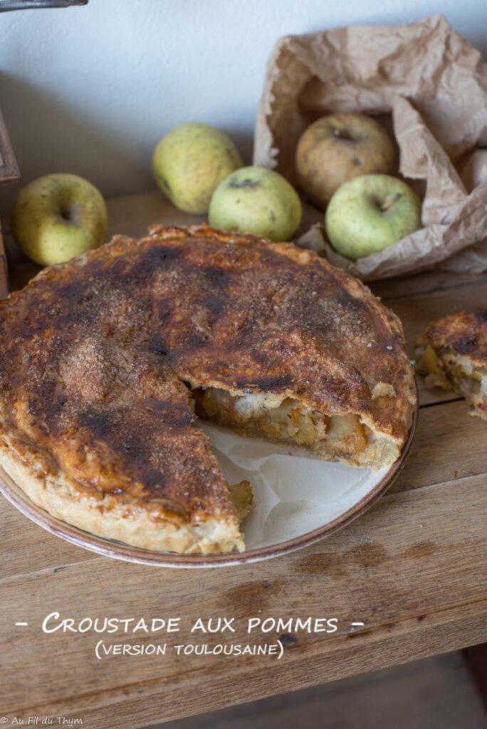 Croustade pommes (version toulousaine) - Au Fil du Thym