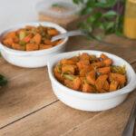 Poêlée de carottes, curry et moutarde - Au FIl du Thym