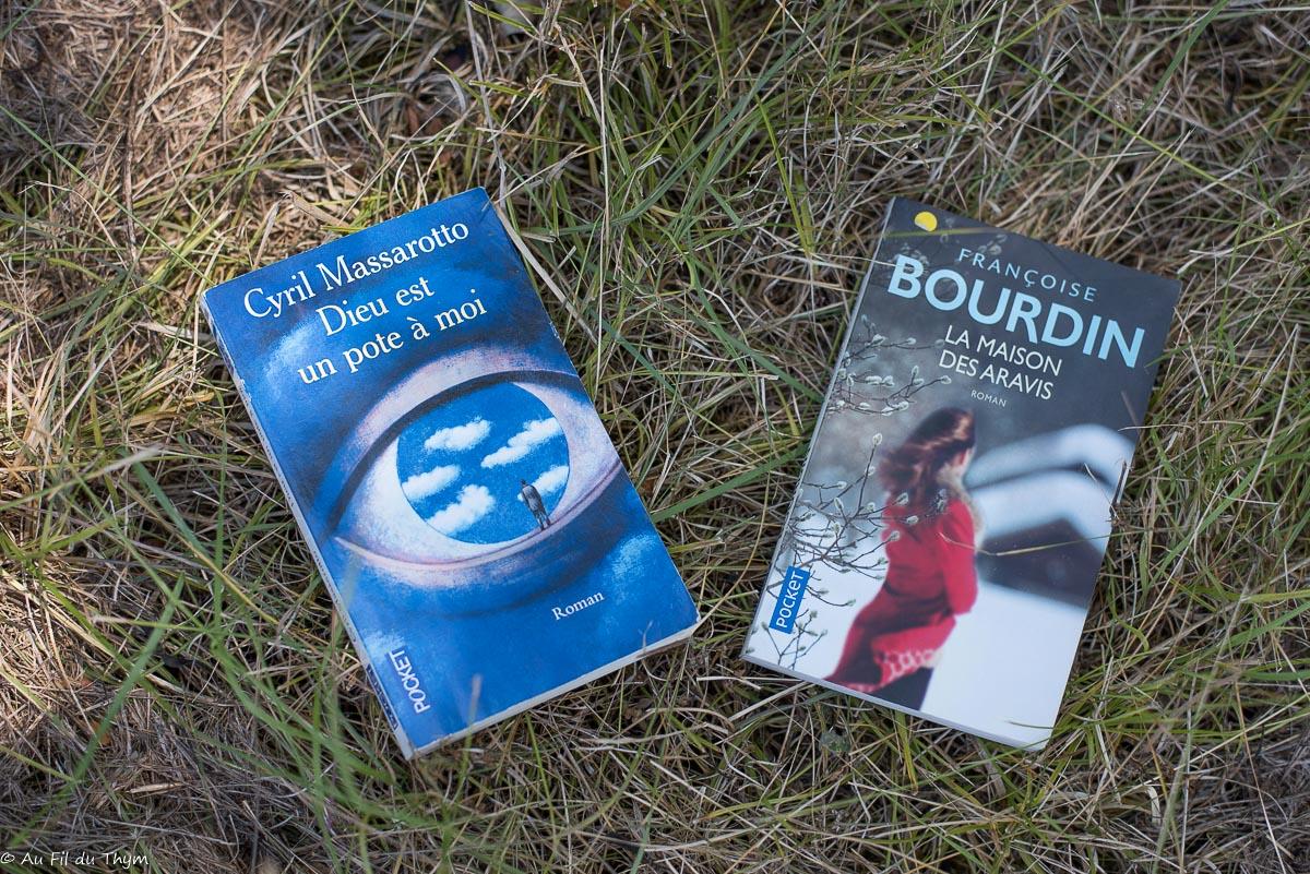 Dernières lectures #30 : Livres chinés, lectures d'été