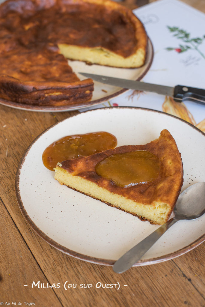 Millas - Gâteau sud ouest - Au Fil du Thym