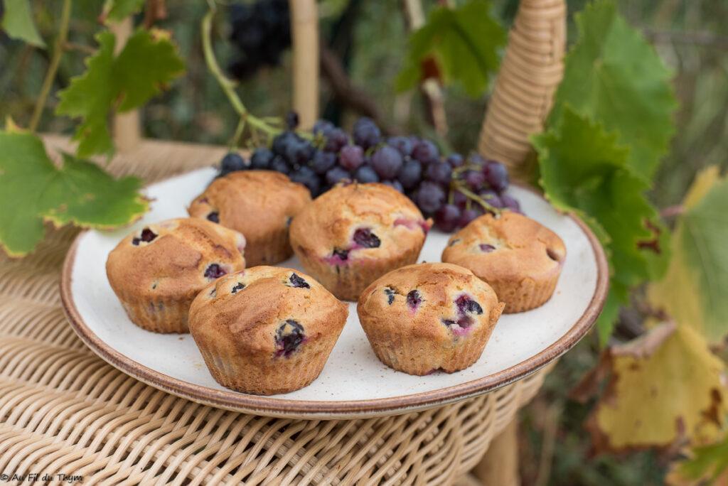 Petits moelleux raisin frais et romarin - Au Fil du Thym