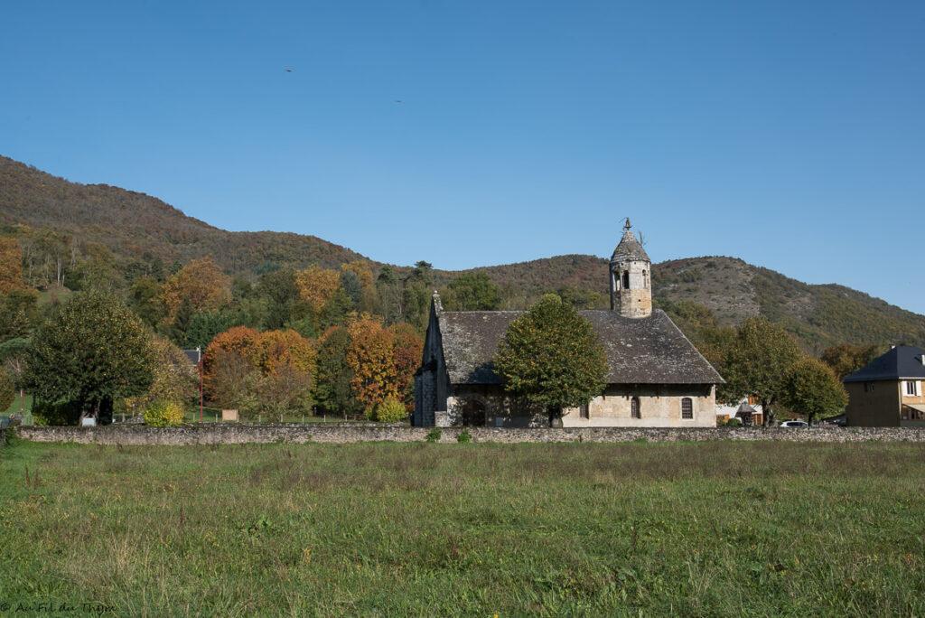 Escapade Bethmale - Eglise de Luzenac