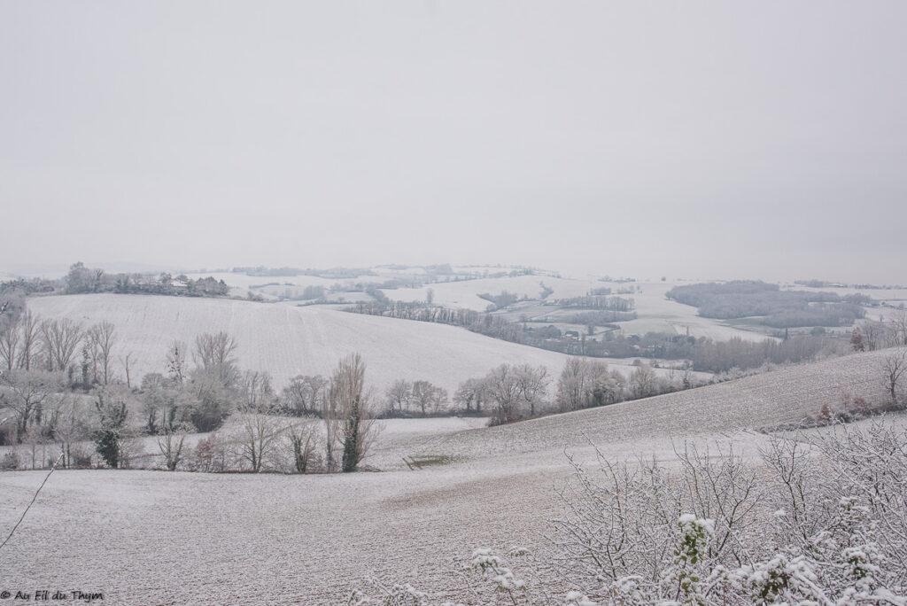 Neige Gers janvier 2021
