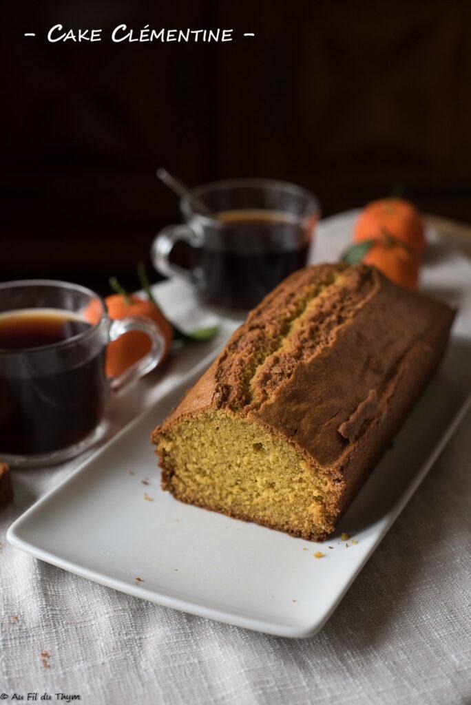 Cake Clémentine - Au Fil du Thym