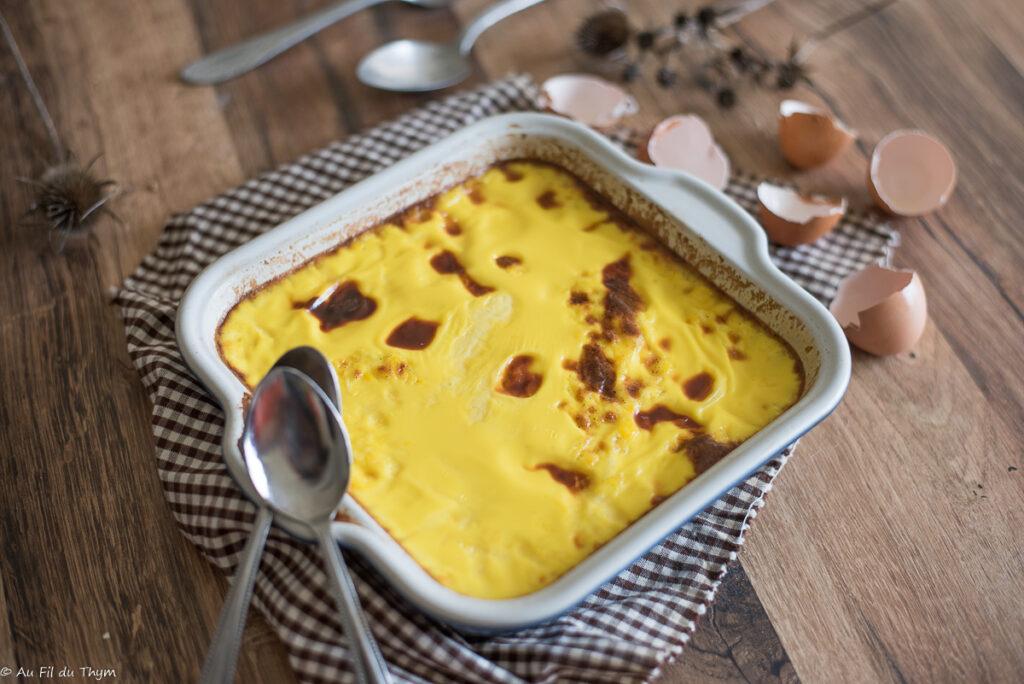 Oeufs au lait (dessert rétro) - Au Fil du Thym