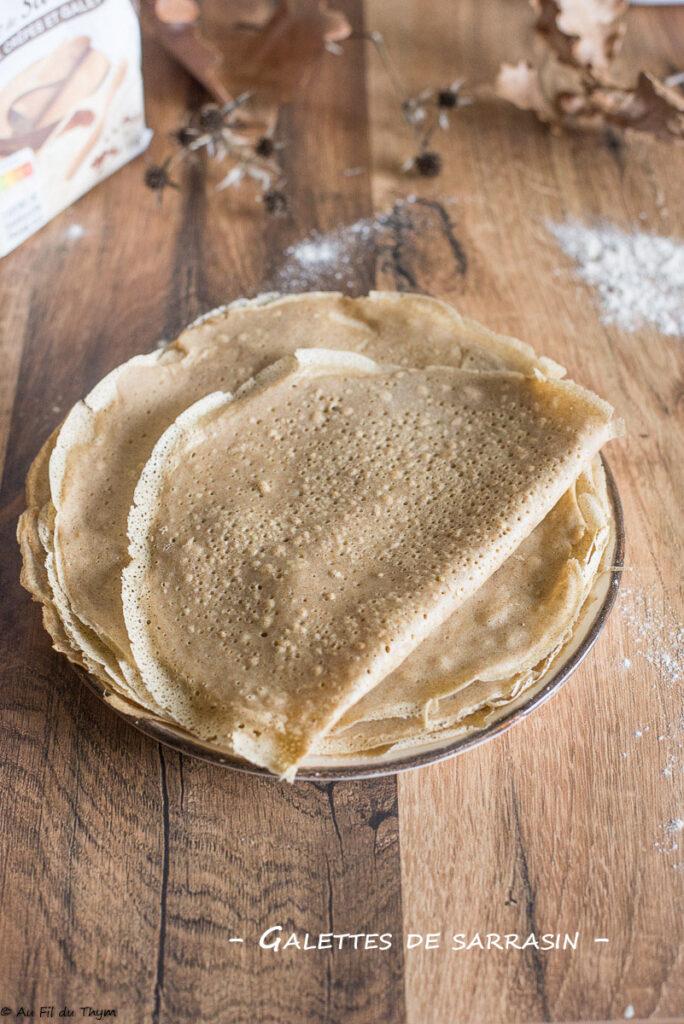 Pâte à galette de sarrasin - Au Fil du Thym