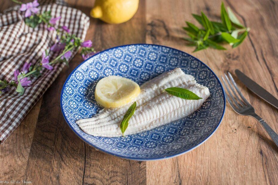 Filet de Bar / Poisson verveine citronnelle - Au Fil du Thym