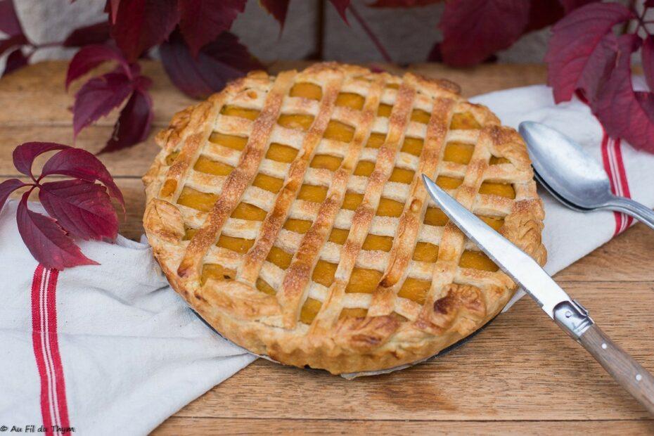 Croustade Butternut (tourte butternut sucrée) - Au Fil du Thym