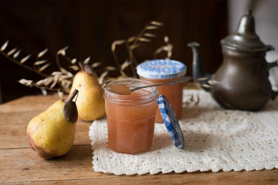 Confiture de poires aux épices douce - Au Fil du Thym